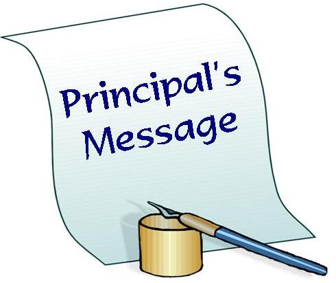 principals message 1