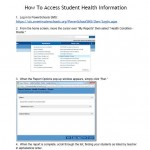 How To Access Student Health Information