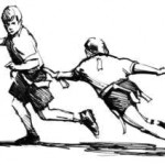 Flag Football illustration